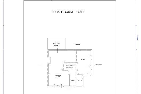 LOCALE COMMERCIALE C/1 – 230 MQ